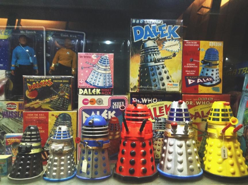 'Doctor Who' Daleks