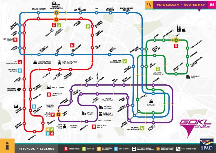 go-kl-bus-routes